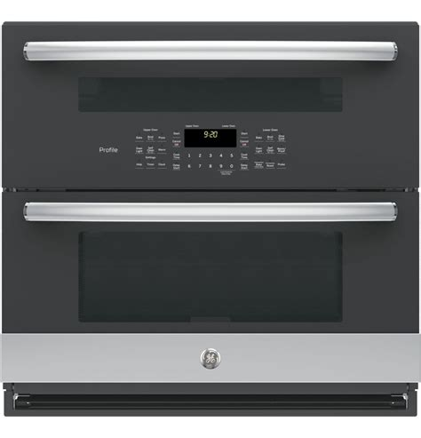 ge profile ptslss series  built  twin flex convection wall oven  appliances