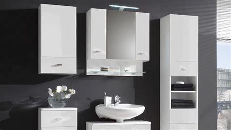 Badezimmer Spiegelschrank Ordnung by Spiegelschrank Barolo Bad Schrank In Wei 223 Hochglanz Mit Led