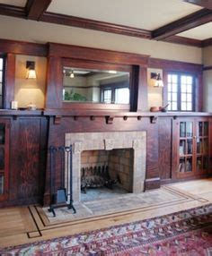 bungalow fireplaces images craftsman style homes