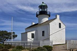 Cabrillo National Monument Lighthouse In San Diego ...