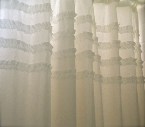 shabby chic curtains on cottage blessings shabby chic inspired shower curtain