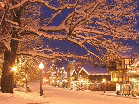 christmas towns wa hgtv holiday market themed leavenworth town washington coast during usa state decorations visit most german