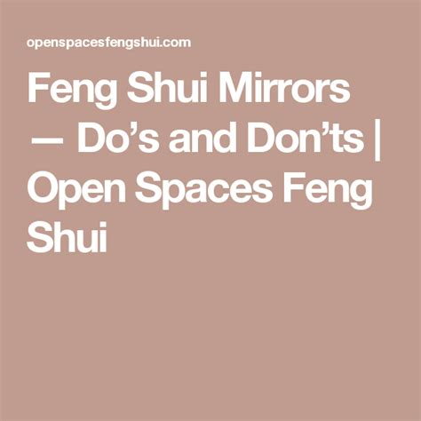 Feng Shui Living Room Do S And Don Ts by Feng Shui Mirrors Do S And Don Ts Open Spaces Feng