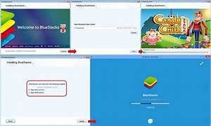 How to Install and Play Candy Crush Saga on PC by BlueStacks
