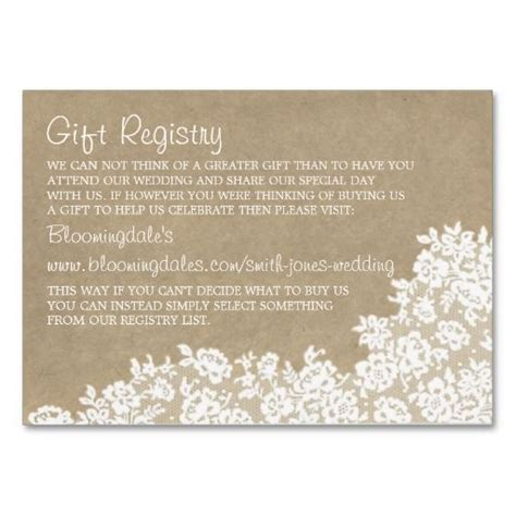 white lace  brown paper rustic elegant wedding business