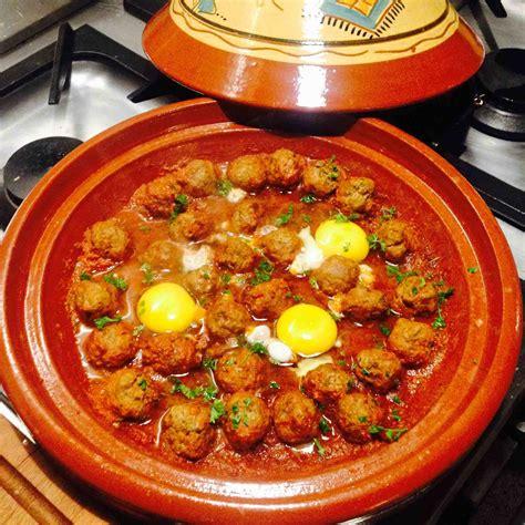 appli cuisine android tagine de boulettes de viande hachée à la sauce tomates et œufs recette de tagine de boulettes