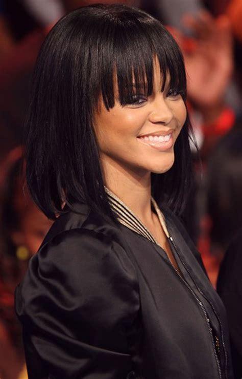 shoulder length black hair styles 25 medium hairstyles for with hair 4220