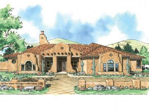 southwest style house plans eplans mission house plan distinctive stucco home 3353