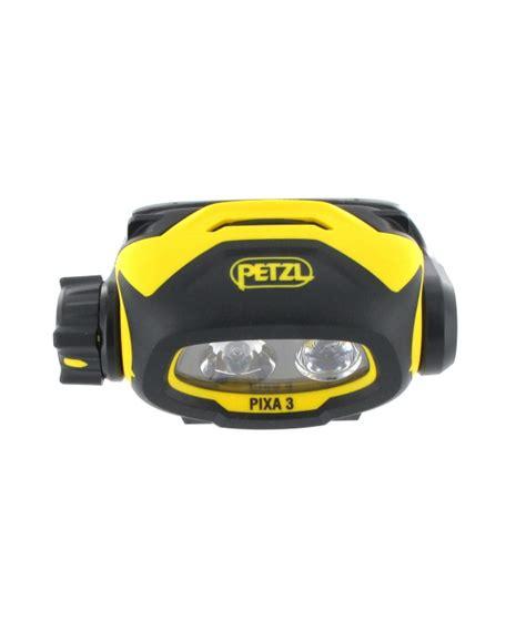 lada frontale petzl 3 pixa multibeam illuminazione costante 100lm