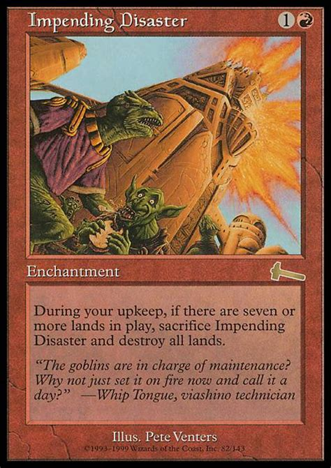 Land Deck Legacy by Impending Disaster Ulg Mtg Card