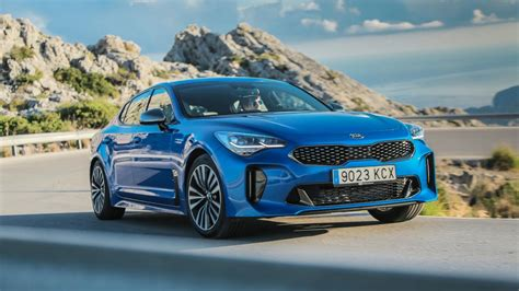 kia stinger  petrol   diesel review top gear