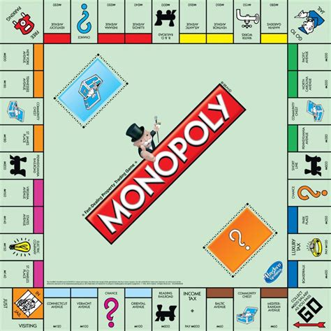 monopoly board 50 greatest card and board of all time