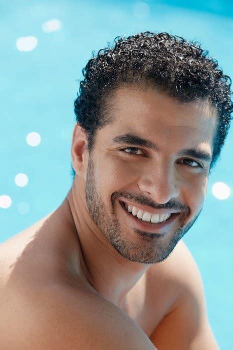curly hairstyles  black men men hairstyles mag