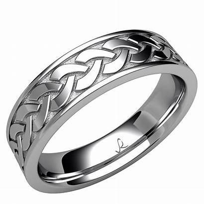Celtic Knot Eternity Band Rybaltchenko Ring Gold