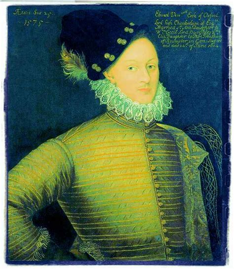 Edward De Vere, the 17th Earl of Oxford   The World of English