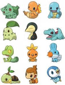 Pokemon Charmander and Mudkip
