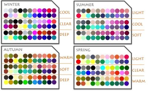 color types what color type are you sofischoice