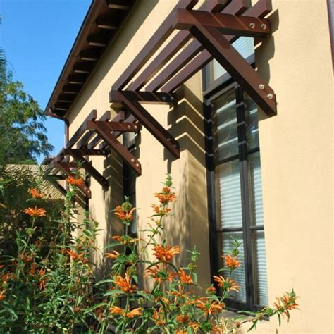 awnings    metal  give windows  definition rustic exterior windows