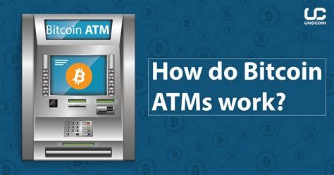 Another great advantage of bitcoin atms is speed: How do Bitcoin ATMs work? - Unocoin