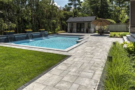 Unilock Transition Pavers by Using Pavers To Create A Striking Transition From