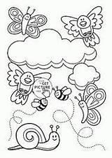 Colorear Coloring Primavera Dibujos Mariposas Animali Flores Animales Animals Dibujo Animalitos Boek Dieren Kleuren Coloration Livre Abejas Animal Libro Animaux sketch template
