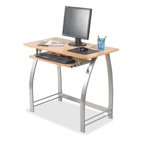 desk 55 inches wide lorell maple laminate computer desk rectangle top 36