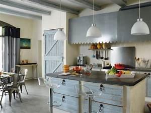 Cuisine Deco Industrielle : cuisine decoration industrielle ~ Carolinahurricanesstore.com Idées de Décoration