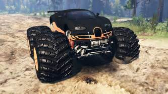 that looks like a lamborghini bugatti veyron ss truck for spin tires