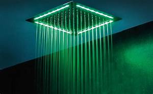 Ciel De Douche : led pour douche latest tte de douche led glass with led ~ Edinachiropracticcenter.com Idées de Décoration