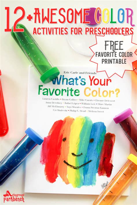 color projects for preschoolers why do you your favorite color color activities for 288