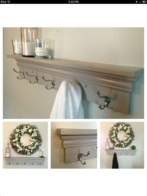 shelves  towel hooks bathroom shelves  towels