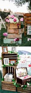 Rustic, Country, Wooden, Crate, Wedding, Decor, Ideas, Deerpearlflowers, Com, Rustic
