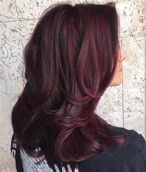 And Burgundy Hairstyles by 50 Shades Of Burgundy Hair Burgundy Maroon