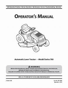Murray 38 U0026quot  12 5 Hp Briggs And Stratton Riding Mower With