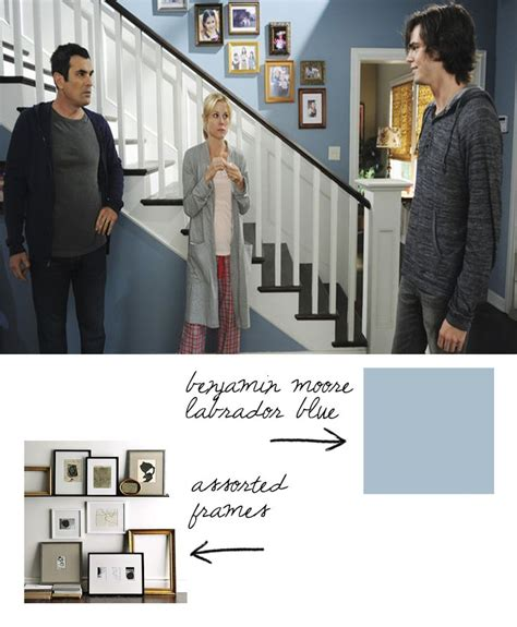 paint colors used on modern family modern family staircase modern family mouldings
