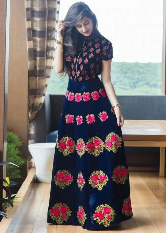 latest pakistani party wear frocks  girls designer