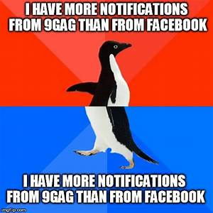 Socially Awesome Awkward Penguin Meme - Imgflip