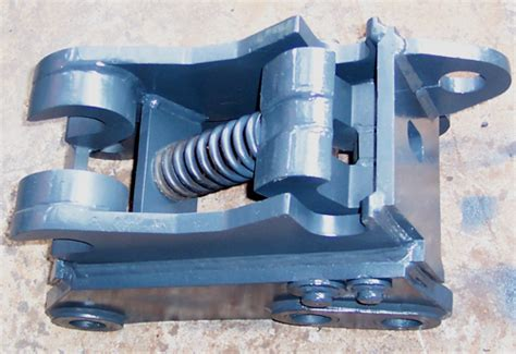 manualspring coupler  excavators kismet industries bucket company faridabad bucket india