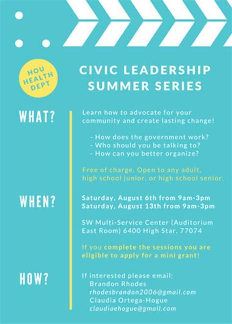 civid leadership summer series   southwest multi