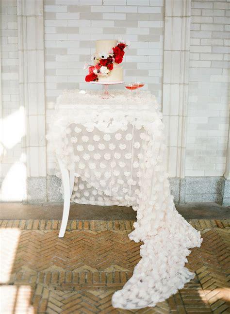 Cake Table Linens 1  I Take You  Uk Wedding Blog