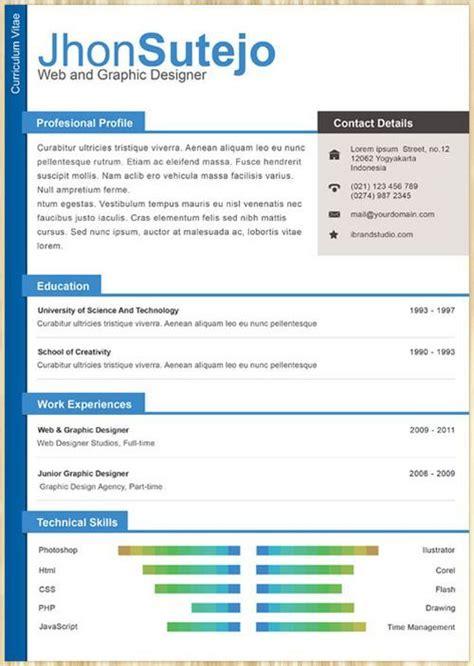 Amazing Resume Templates Free by Amazing Collection Of Free Cv Resume Templates Cv Resume