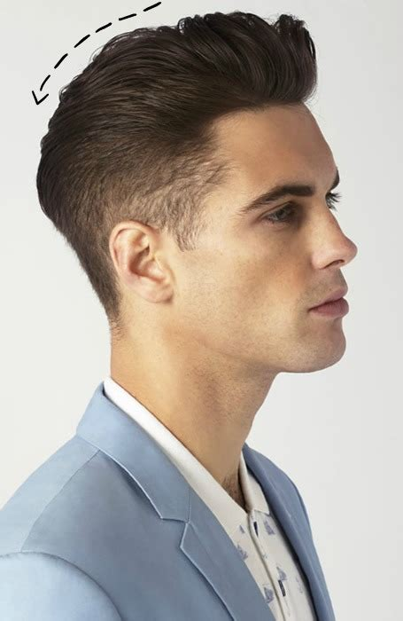 classic mens quiff hairstyle  haircut trend