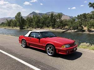 Today I inherited this 89' Mustang GT with 20k miles. I'm driving it home from Idaho to Seattle ...
