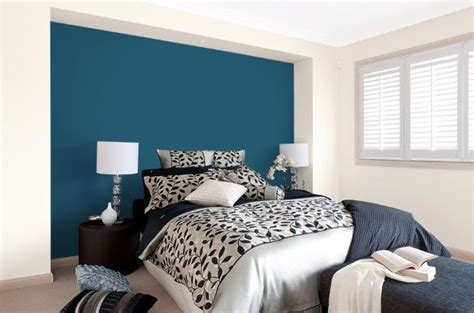 19 Bedrooms With Neutral Palettes by Dulux Forest Blues Peacock Blue In 2019