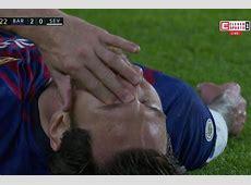 Flipboard Lionel Messi fractures arm The games Barcelona