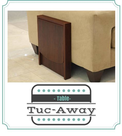 space saving end table tucaway side table for saving space a thrifty 5632