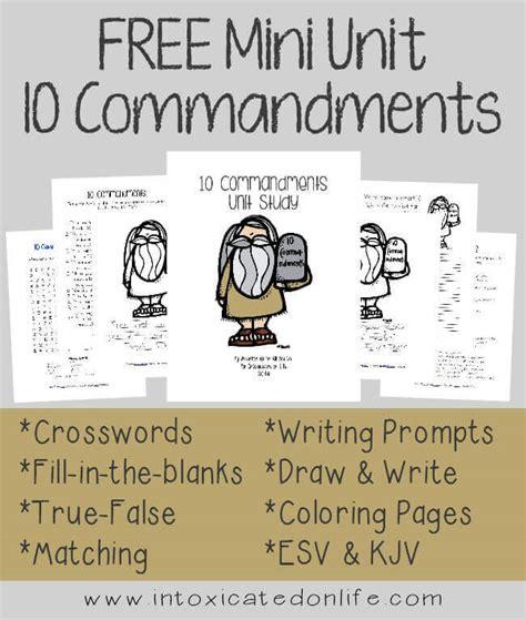 Download the ten commandments minibook download. 10 Commandments Mini Unit Study {75+ pgs}