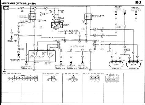 Mazda Tribute Trailer Wiring Diagram by Mazda Truck Light Wiring Diagram 24h Schemes