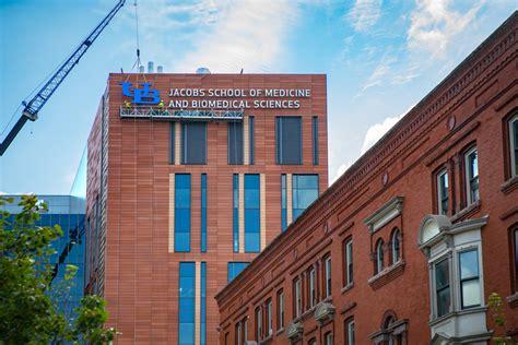buffalo medicine medical jacobs construction ub university biomedical building sciences med site downtown edu