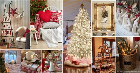 adorable cozy cottage  year decoration ideas
